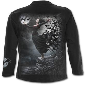 tričko pánské s dlouhým rukávem SPIRAL - GOTH NIGHTS - Black - M023M301