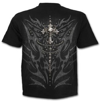 tričko pánské SPIRAL - TRIBAL CHAIN - Black