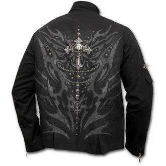 bunda pánská SPIRAL - TRIBAL CHAIN - Orient Goth Black, SPIRAL