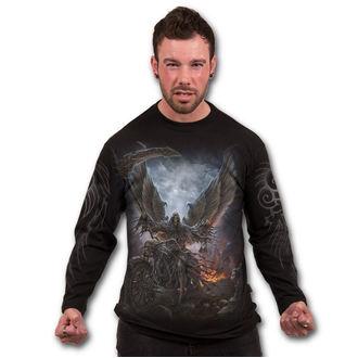 tričko pánské s dlouhým rukávem SPIRAL - RIDE OR DIE - Black