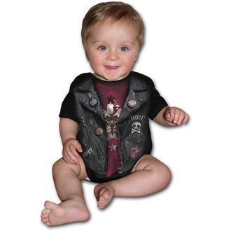 body dětské SPIRAL - BABY BIKER - Black, SPIRAL