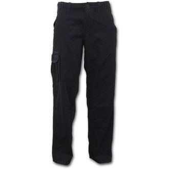 kalhoty pánské SPIRAL - METAL STREETWEAR - Black - P003M771