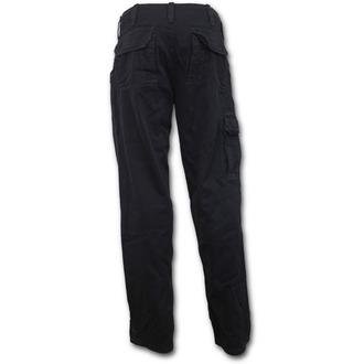 kalhoty pánské SPIRAL - METAL STREETWEAR - Black, SPIRAL
