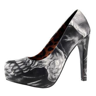 boty dámské (střevíce) IRON FIST - Dead On Platform - IFW006004-GREY