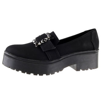 boty dámské IRON FIST - Nocturnal Cleated Sole Flat - IFW006008-BLACK