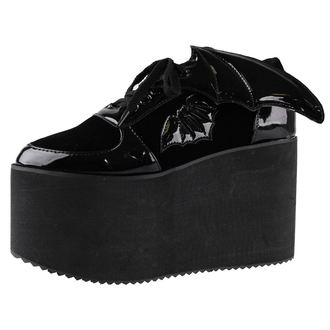 boty dámské IRON FIST - Creature Of The Night Flatform - IFW006007-BLACK