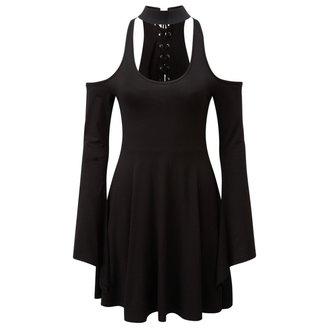 šaty dámské KILLSTAR - Piper Hexeri - Black - K-DRS-F-2419