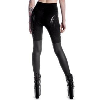 kalhoty dámské (legíny) KILLSTAR - Metal Descent - Black, KILLSTAR