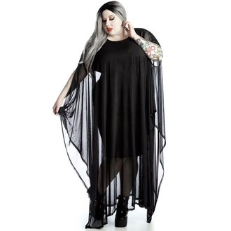 šaty dámské KILLSTAR - Mystic Mesh Maxi [PLUS], KILLSTAR
