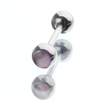 piercingový šperk - Pink - IV016