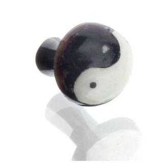 piercingový šperk tunel - 4mm