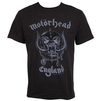 tričko pánské AMPLIFIED - MOTORHEAD - ENGLAND, AMPLIFIED, Motörhead