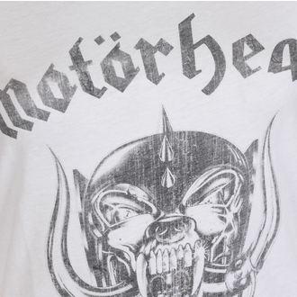tričko dámské AMPLIFIED - MOTORHEAD - ENGLAND - WHITE, AMPLIFIED, Motörhead
