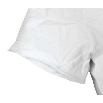 tričko dámské AMPLIFIED - DAVID BOWIE - LOGO - WHITE