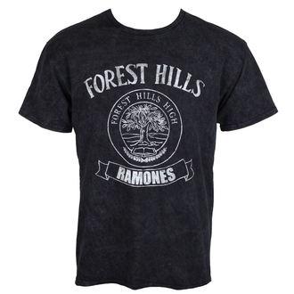 tričko pánské Ramones - Forest Hills - Black - ROCK OFF