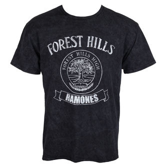 tričko pánské Ramones - Forest Hills - Black - ROCK OFF, ROCK OFF, Ramones