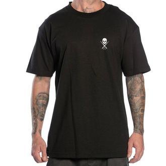 tričko pánské SULLEN - STANDARD ISSUE - BLACK/WHITE - SCM0019_BKWT