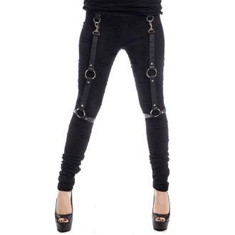kalhoty dámské (legíny) Vixxsin - HEERO - BLACK - POI400