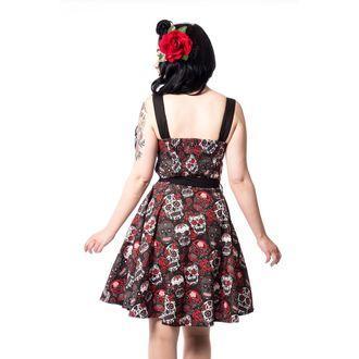 šaty dámské Rockabella - CARMEN - BLACK, ROCKABELLA