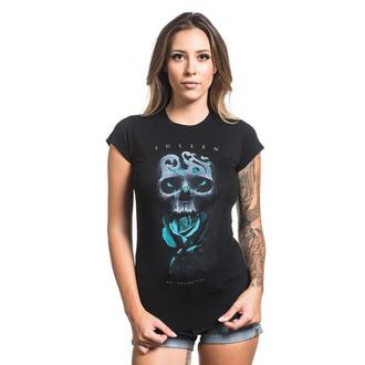 tričko dámské SULLEN - NEIL BADGE - BLACK - SCW1076_BK
