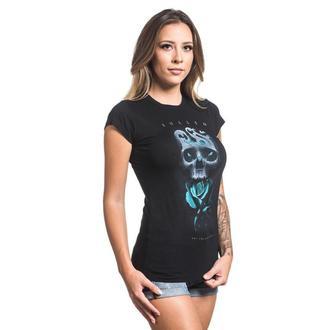 tričko dámské SULLEN - NEIL BADGE - BLACK