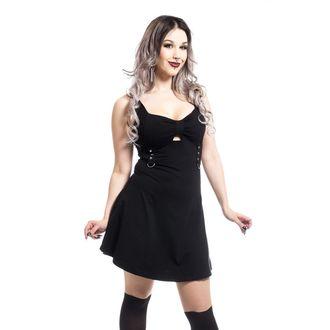 šaty dámské Poizen industries - LEANDRA - BLACK - POI394