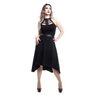šaty dámské Poizen industries - RAVETTE - BLACK, POIZEN INDUSTRIES