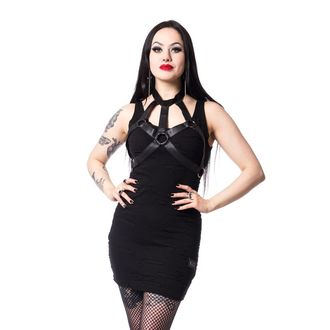 šaty dámské VIXXSIN - YOKO - BLACK - POI393