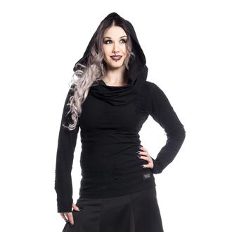 tričko dámské s dlouhým rukávem (mikina) Vixxsin - PURITY - BLACK - POI365