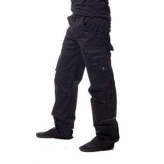 kalhoty pánské Vixxsin - LEON - BLACK - POI369