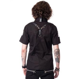 košile pánská VIXXSIN - RUNE - BLACK, VIXXSIN