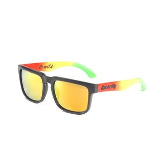 brýle sluneční MEATFLY - Foggy - B - Black/Rasta, MEATFLY