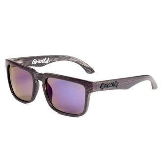 brýle sluneční MEATFLY - Foggy - D - Black Wood - MEAT056