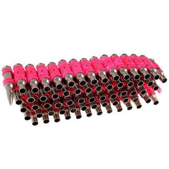 pásek Silver & Fluorescent - Pink Metal Bullet