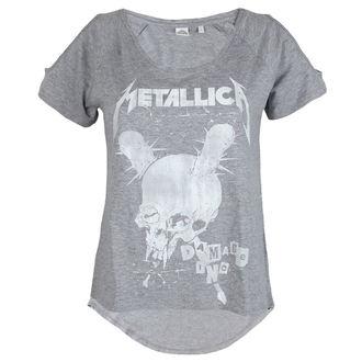 tričko dámské Metallica - Damage Inc Drop Shoulder - Heather Grey, Metallica