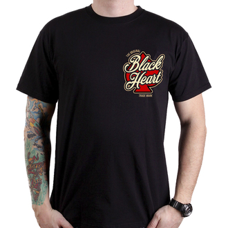 tričko pánské BLACK HEART - HOT ROD ANGEL - BLACK