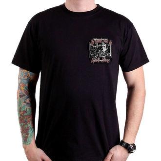 tričko pánské BLACK HEART - OLD LEGEND - BLACK