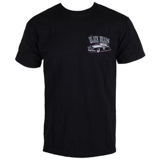 tričko pánské BLACK HEART - MERCURY - BLACK