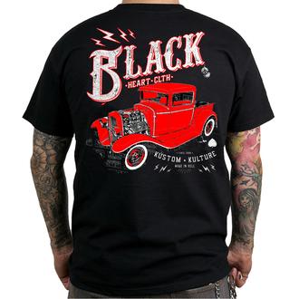 tričko pánské BLACK HEART - PICK UP - BLACK - 001-0083-BLK