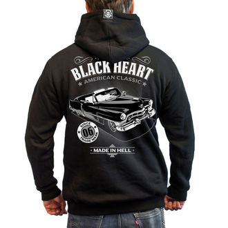 mikina BLACK HEART - CADILLAC - BLACK