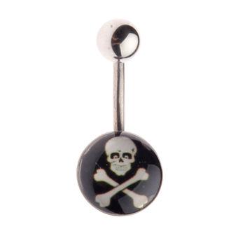 piercingový šperk Lebka - L-025