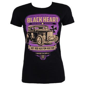tričko dámské BLACK HEART - UNITED - BLACK, BLACK HEART