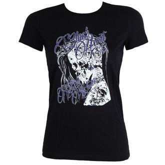 tričko dámské BLACK HEART - PUNK - BLACK, BLACK HEART