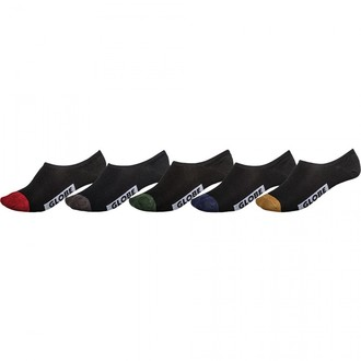 ponožky (set 5 párů) GLOBE - Dip Invisible, GLOBE