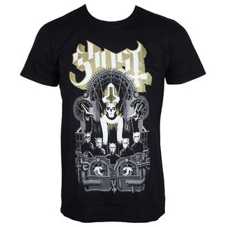 tričko pánské Ghost - Wegner - Black - ROCK OFF, ROCK OFF, Ghost
