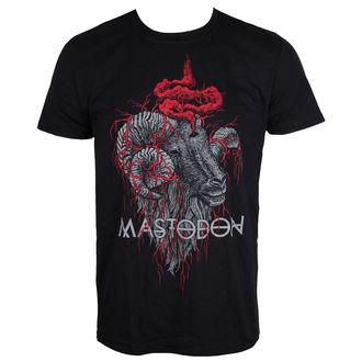 tričko pánské Mastodon - Rams Head - Black - ROCK OFF, ROCK OFF, Mastodon