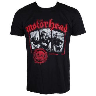 tričko pánské Motörhead - Stamped - Black - ROCK OFF, ROCK OFF, Motörhead
