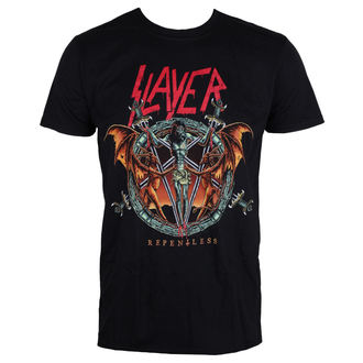tričko pánské Slayer - Demon Christ Repentless - Black - ROCK OFF, ROCK OFF, Slayer