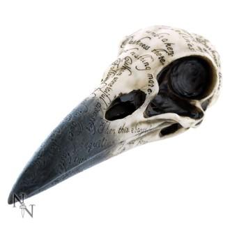 dekorace Edgar's Raven Skull