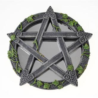 zrcadlo (dekorace) Wiccan Pentagram - B2537G6